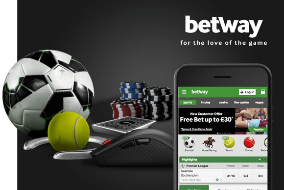 Betway app download for Android.