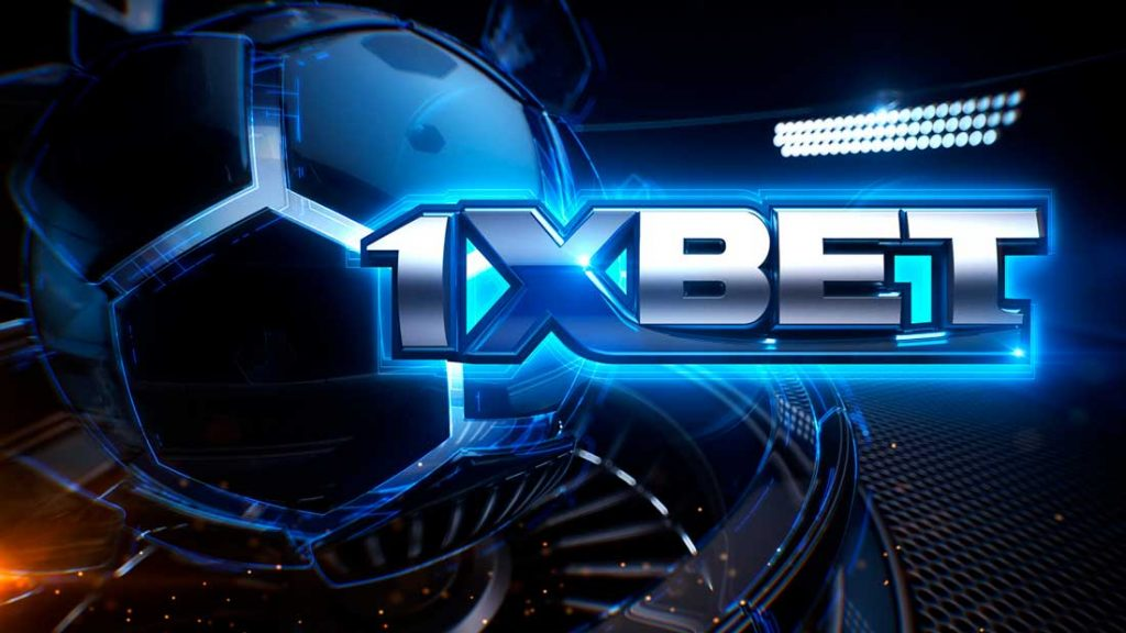 Registration with 1xBet betting app.