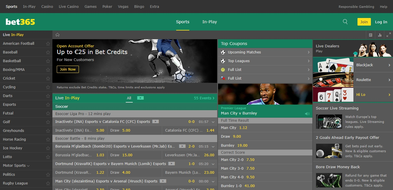 Bet365 Kenya predictions opportunities.