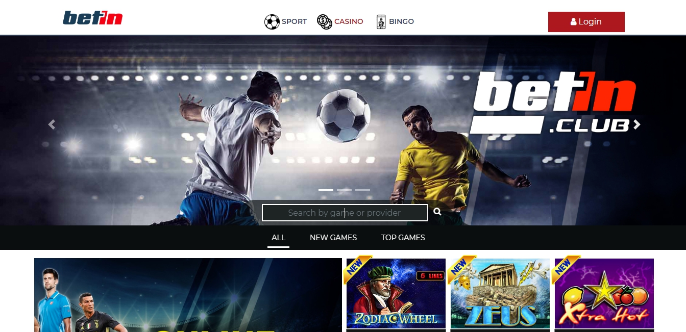 Betin jackpot bonuses for new and experienced users.