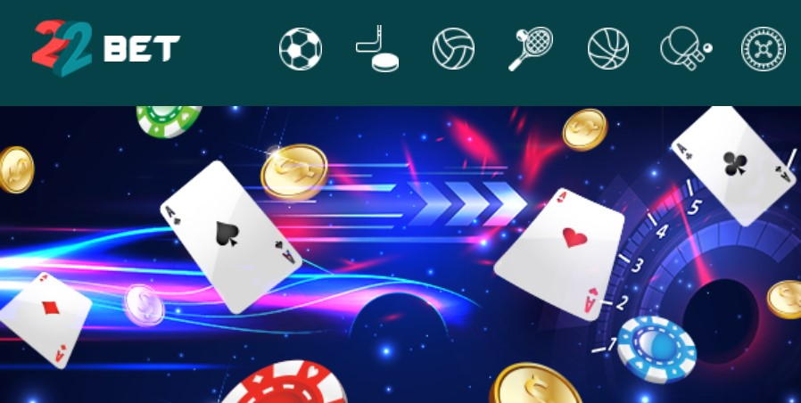 22bet betting company bonus