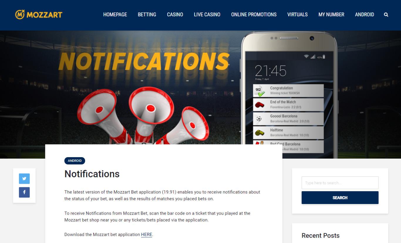 MozzartBet App Kenya Pros
